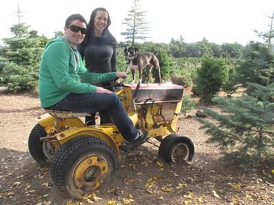 Christmas Tree Hunting 2011