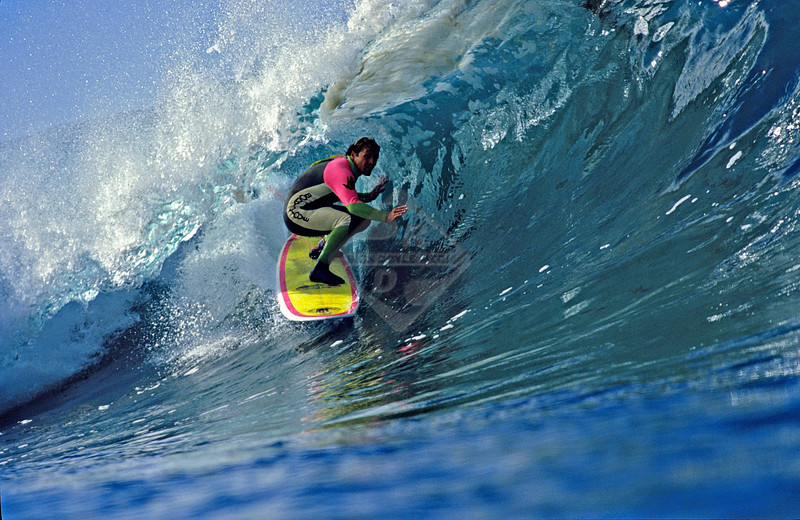 Surfing - La Jolla, California - Glassy Tube Ride