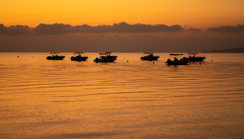 Sunrise at the Ikos Dassia, Corfu