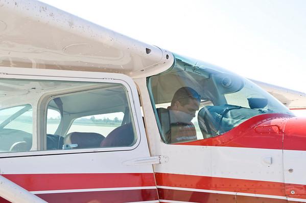 Aerial campus photos - aerospace