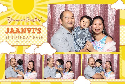 Jaanvi's 1st Birthday (Mini Open Air Photo Booth 2)