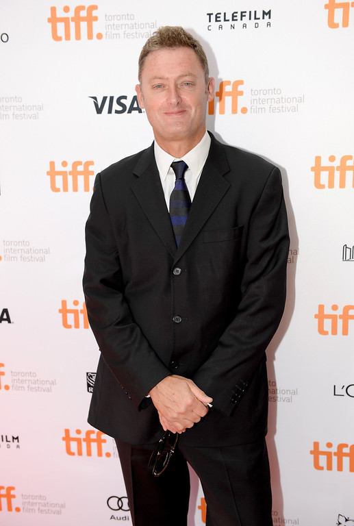 """. Screenwriter Jeff Pope arrives at the\""""Philomena\"""" Premiere during the 2013 Toronto International Film Festival at the Princess of Wales Theatre on September 8, 2013 in Toronto, Canada.  (Photo by Aaron Harris/Getty Images)"""