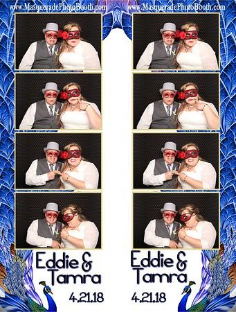 Tamra and Eddie