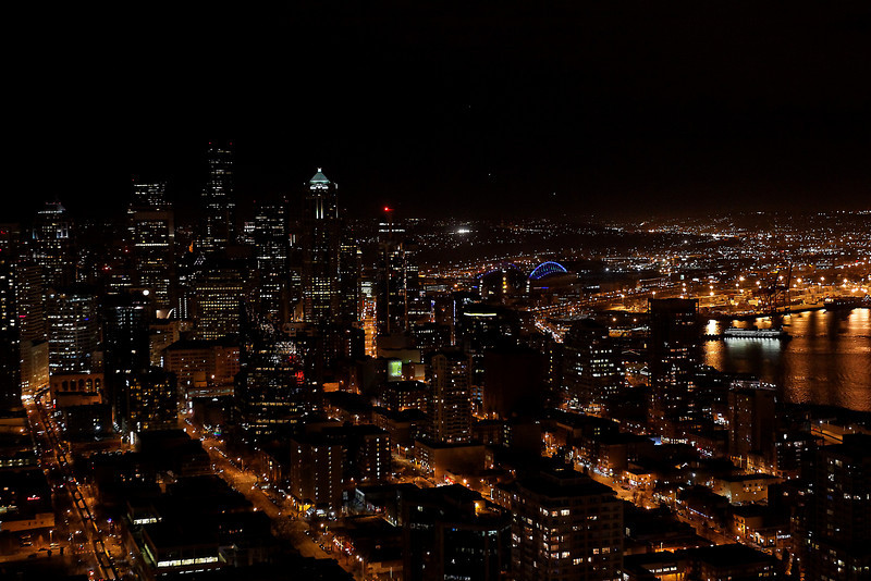 Seattle night view