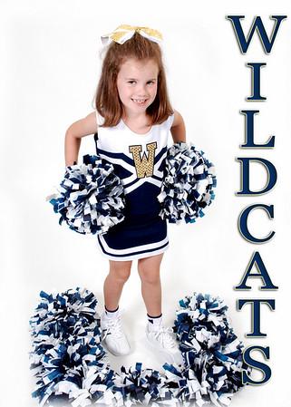 Loebl Wildcats Cheerleaders 2010