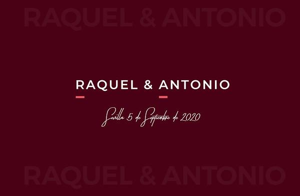Raquel & Antonio - 5 septiembre 2020