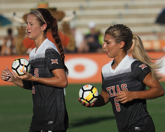 University of Texas Soccer vs. Incarnate Word 8.11.2017
