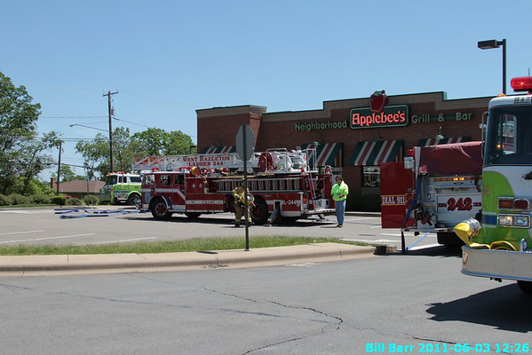 Applebees Fire 6/3/11