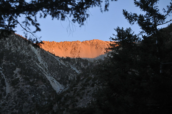 Mt. Baldy February 3, 2012