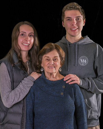 Nancy,  Meg, Joe