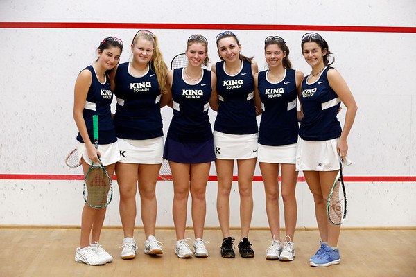 Vikings Varsity Girls Squash Feb. 2018