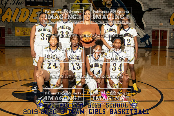 2019-2020 Keenan JV Girls Basketball TNI