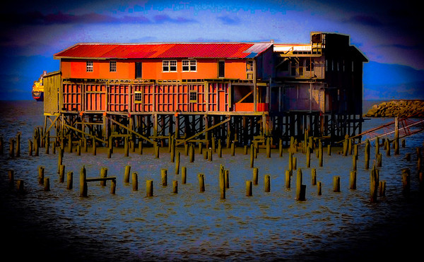 An Old Cannery, Astoria, Oregon