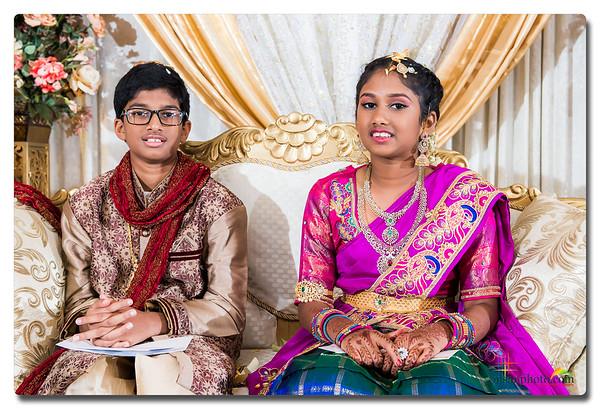 Suvan's Doti Function and Saanvi's Half Saree Function - Highlights 2017