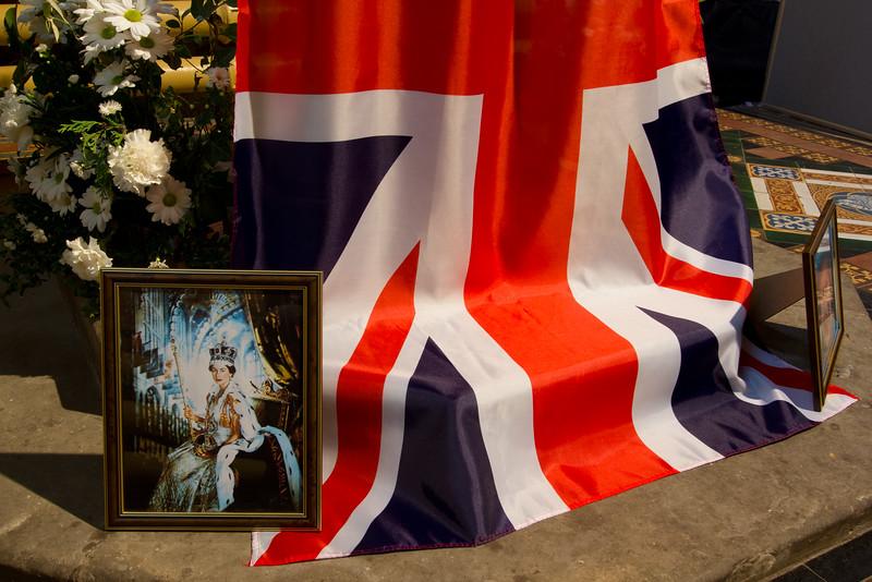 Celebrating the Queen's Diamond Jubilee in Kings Norton