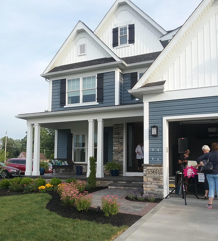 . The 25th Lake County YMCA Dream House is at 5360 Highland Way in Mentor\'s Lakeshore Highlands development. (Jean Bonchak)