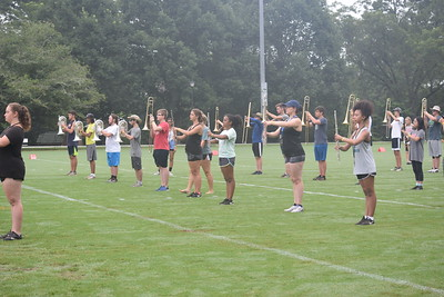 Day 2 of Oxford Band Camp Monday 7/16 (Shannon Baughn)