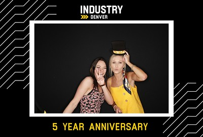 INDUSTRY 5 Year Anniversary | 05.16.19