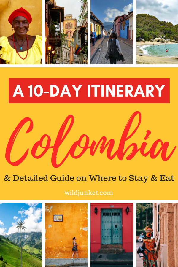 Colombia Itinerary: A Detailed Guide for 10 Days in Colombia