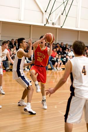 Scotch Basketball 1st 01/08/2009