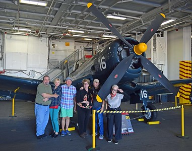 Trantham Group on USS Midway