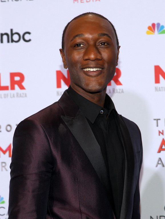 . Aloe Blacc poses backstage at the NCLR ALMA Awards at the Pasadena Civic Auditorium on Friday, Sept. 27, 2013, in Pasadena, Calif. (Photo by Paul Hebert/Invision/AP Images)