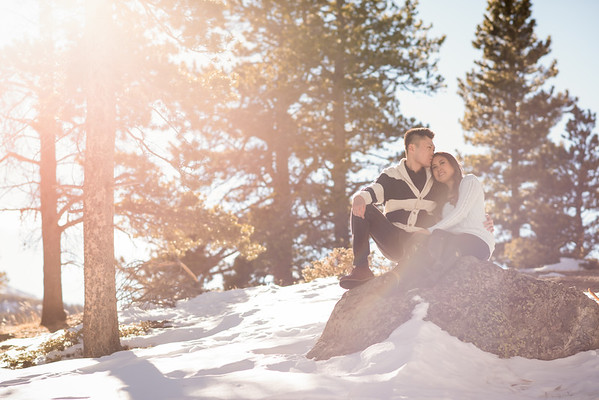 Maricelle & Phil's Denver Engagement!