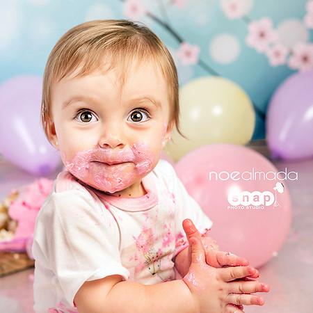 Antonia, sesión smash cake
