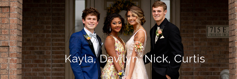 Kayla, Davilyn, Nick & Curtis