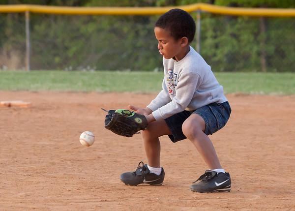 Baseball Practice 4-20-2010