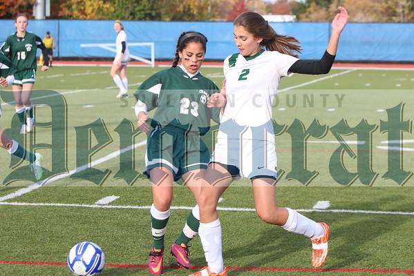 Eldred vs. Coleman Girls Section IX Soccer