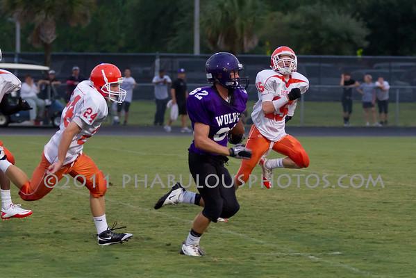 Boone JV Football #24- 2011
