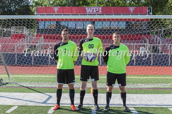 WPI Men's Soccer headshots 2015