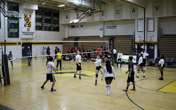 SV Coed Volleyball vs. Einstein HS 3-21-2019