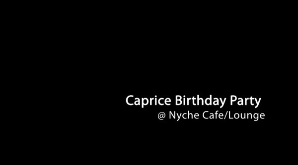 Caprice 40th Birthday Party - VIDEO