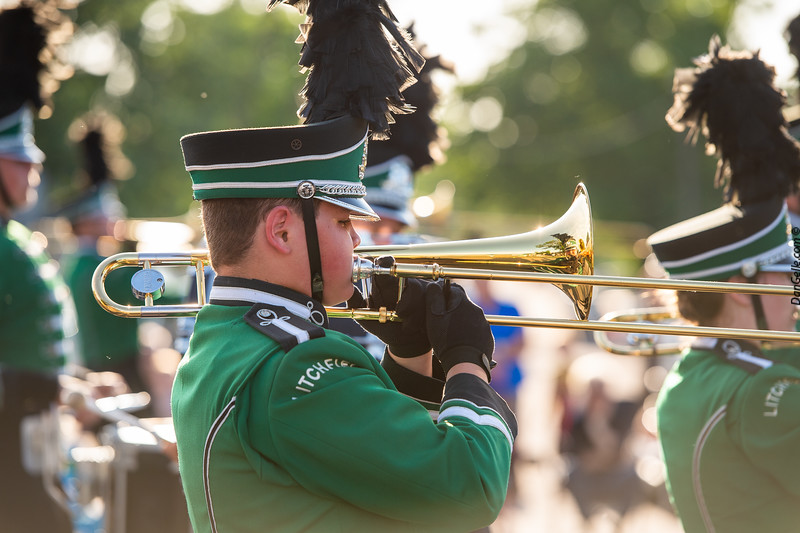 Marching Dragons in Pioneerland Band Festival