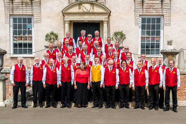Abertillery Male Voice Choir at Torre Abbey, Torquay