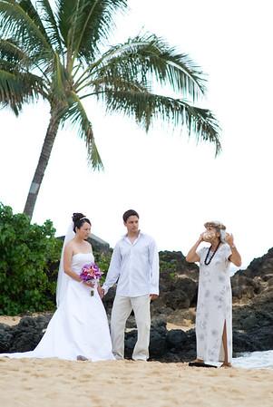 Maui Hawaii Wedding Photography for Khan 09.27.07