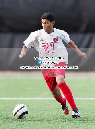 10/25/2016 - Boys Freshman Soccer - St. John's Prep vs Everett
