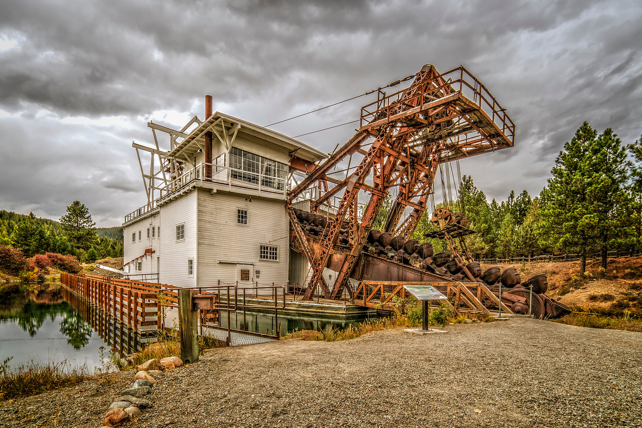 historic gold dredge