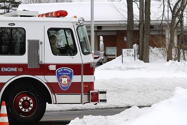 NB Fire Truck snow