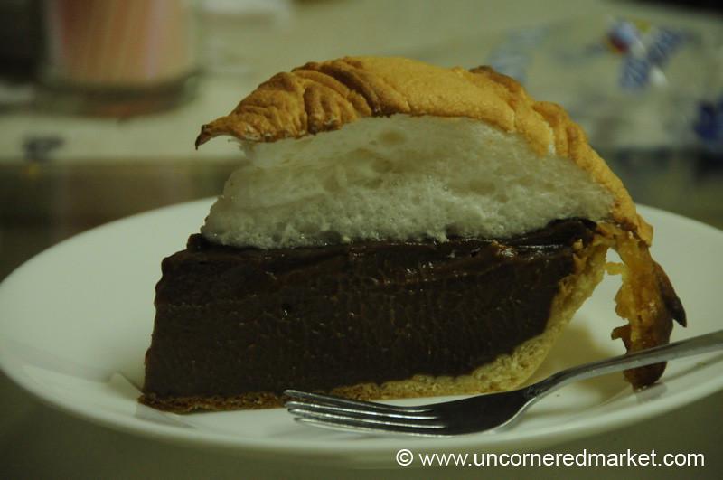 Delightful Dessert at Shenandoah Pie - Otavalo, Ecuador