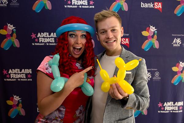 Adelaide Fringe Ambassadors 2018