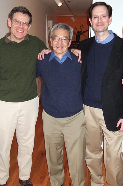 Bruce Bean, Dick Tsien & Patrick Ellinor
