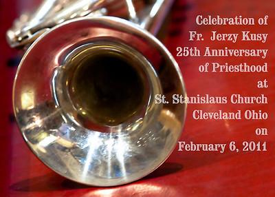 Fr. Jerzy Kusy 25th Jubilee