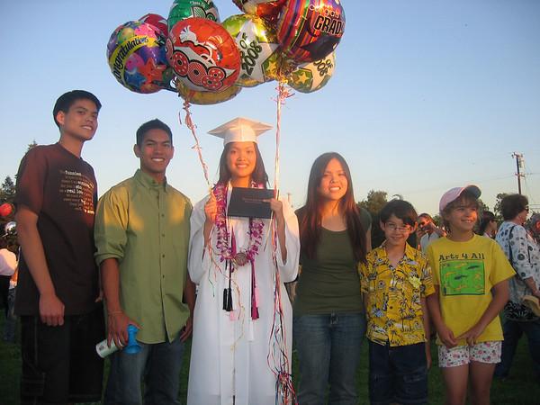 Tasha's HS graduation