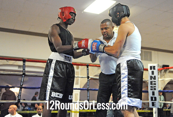 Bout 7 Keith Bibbs, United City Boxing -vs- Danny Rosenberger, Warren, OH 152 lbs