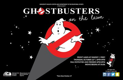 Ghostbusters on the Lawn - 10.22.15