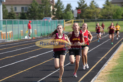 800 Meter Girls - 2013 Northville Middle School Dual Meet