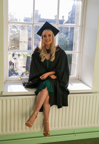 01/11/2018. Waterford Institute of Technology (WIT) Conferring Ceremonies 2018. Pictured is Clodagh Fitzgerald, Carrick on Suir. Picture: Patrick Browne